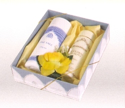 Golden Beauty Moisturiser and Fine Talc Gift Set