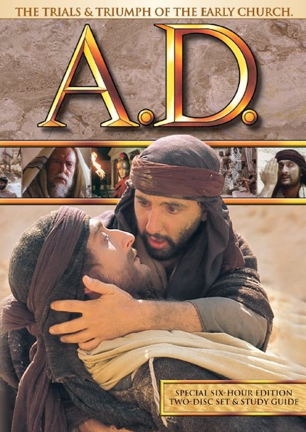 DVD A.D. The Trials & Triumph of the Early Church.