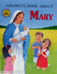 About Mary Coloring Book