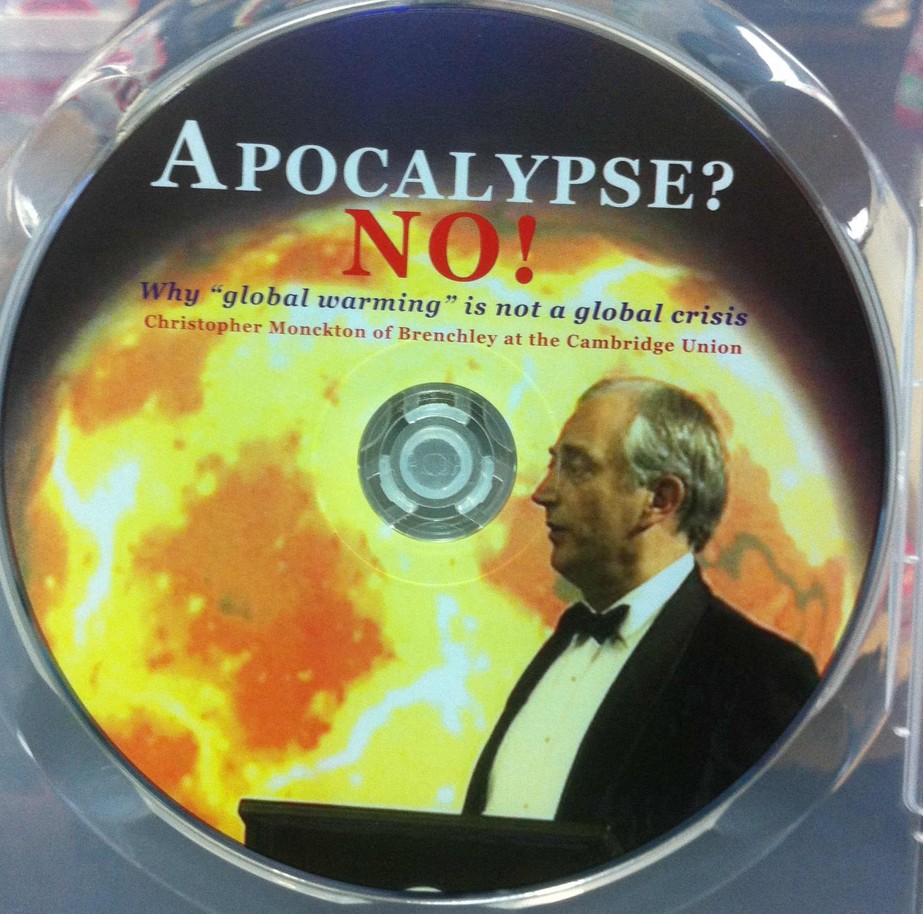 DVD Apocalypse? No! Why 'Global Warming' is Not a Global Crisis / Christopher Monckton
