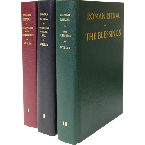 The Roman Ritual 3 Volume Set / Fr Weller