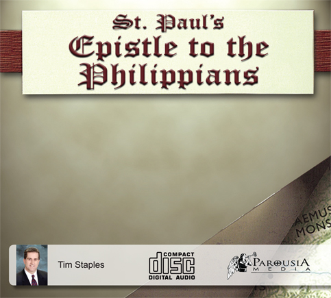 CD St Paul's Epistle to the Philippians with Tim Staples