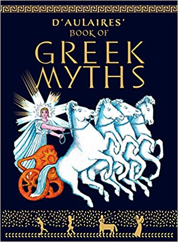 D Aulaires Books Of Greek Myths / Ingri d Aulaire