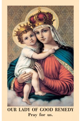Our Lady of Good Remedy Prayer Cards PKT 100 / Anonymous