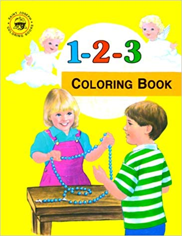 123 Coloring Book St Joseph Coloring Books / Emma C McKean