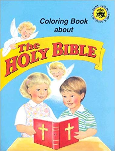 Coloring Book About the Holy Bible Paperback / Catholic Book Publishing Co