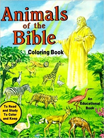 Animals of the Bible Coloring Book / Catholic Book Publishing Co