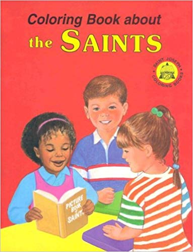 Coloring Book About the Saints / Catholic Book Publishing Co