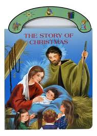 "The Story Of Christmas St Joseph ""Carry-Me-Along"" Board Book / George Brundage"