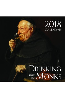 2018 Drinking With the Monks Wall Calendar