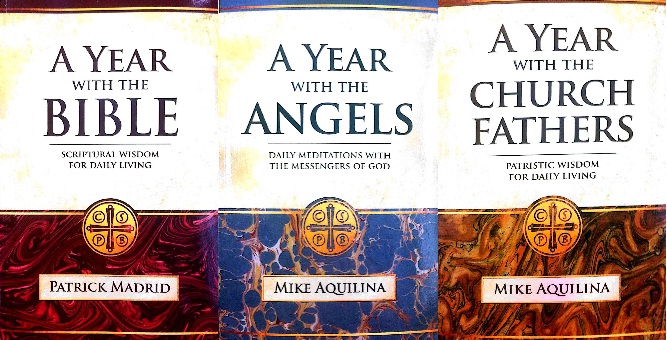 3 VOLUME SET: A Year with the Angels, A Year with the Bible, A Year with the Church Fathers