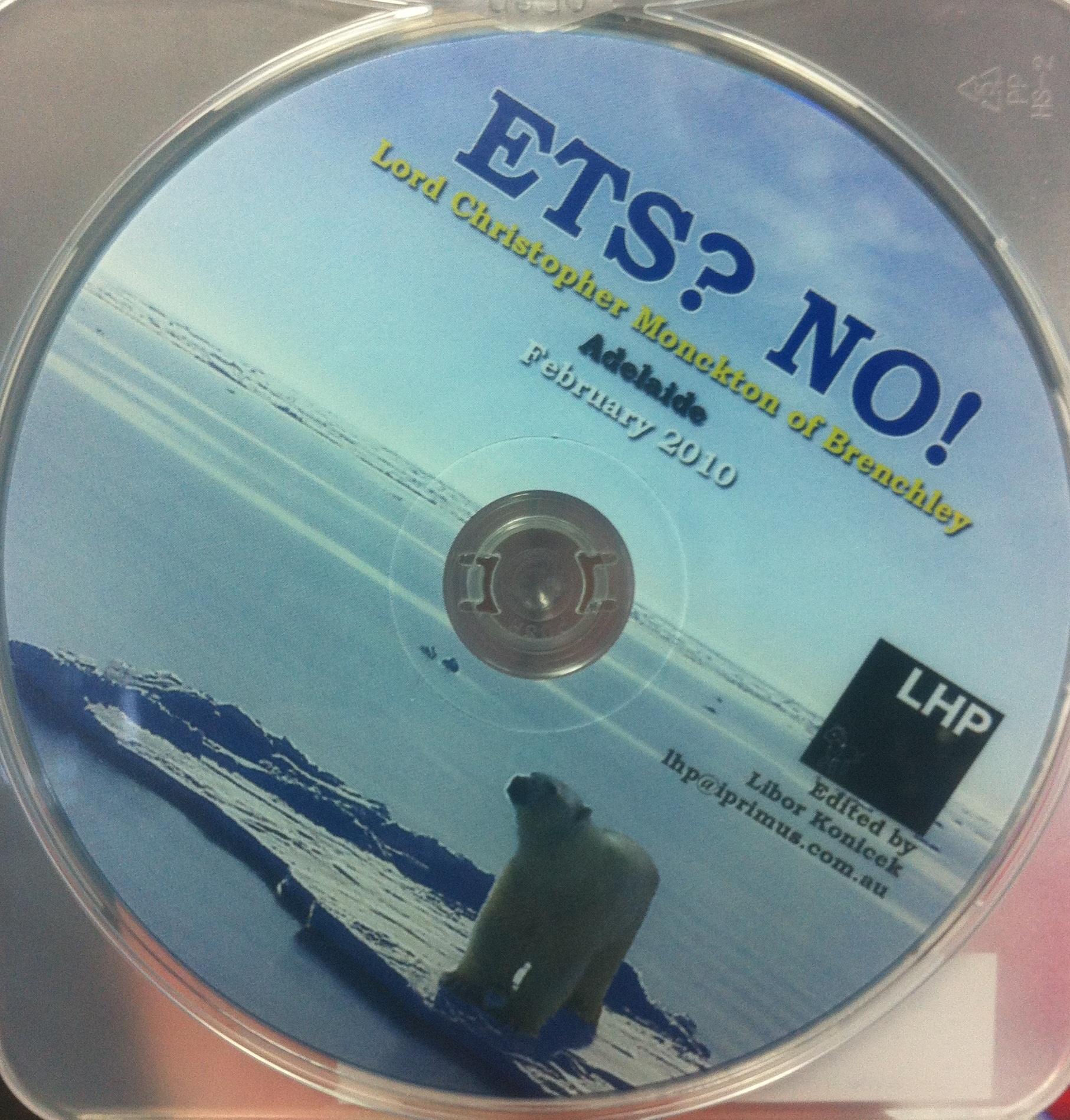 DVD ETS? No! / Christopher Monckton